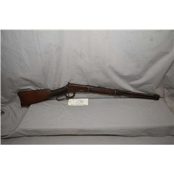 "Winchester Model 1894 .30 WCF Cal Lever Action Saddle Ring Carbine w/ 20"" bbl [ gun appears poor, ru"