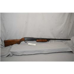 "Ithaca Model 37 Featherweight .12 Ga 2 3/4"" Pump Action Shotgun w/ 30"" bbl [ blued finish, checkered"
