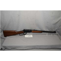 "Ithaca Model 72 Saddlegun .22 LR Cal Tube Fed Lever Action Rifle w/ 18 1/2"" bbl [ blued finish, barr"