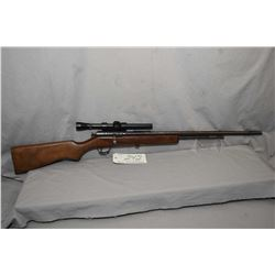 "Cooey Model 60 .22 LR Cal Tube Fed Bolt Action Rifle w/ 24"" bbl [ fading blued finish with various m"