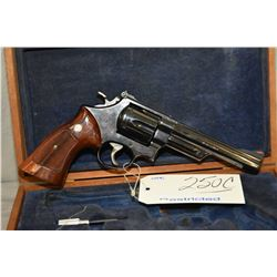 Restricted - Smith & Wesson Model 57 .41 Rem Mag Cal 6 Shot Revolver w/ 152 mm bbl [ blued finish, a