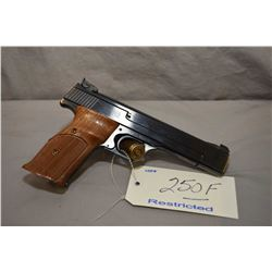 Restricted Smith & Wesson Mod 41 .22 LR Cal 10 Shot Semi Auto Pistol w/ 140 mm bbl [ appears excelle