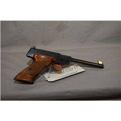 Restricted Browning Model Challenger .22 LR Cal 10 Shot Semi Auto Pistol w/ 172 mm bbl, also c/w ext
