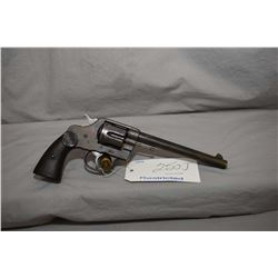 Restricted Colt Model New Service .44 Cal 6 Shot Revolver w/ 191 mm bbl [ fading blue finish with so