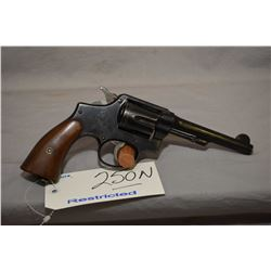 Smith & Wesson Model 38 Hand Ejector Military & Police 1905 Fourth Change .38 S & W Cal 6 Shot Revol