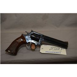 Restricted Dan Wesson Model 15 ? .357 Mag Cal 6 Shot Revolver w/ 152 mm bbl w/ vent rib and adjustab