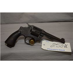 Restricted Smith & Wesson Model 38 Hand Ejector Military & Police Victory .38 S & W Cal 6 Shot Revol
