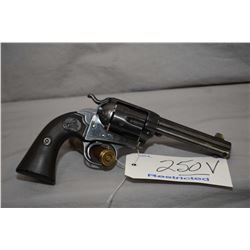 Restricted Colt Model 1894 Bisley Single Action Army .41 Long Colt Cal 6 Shot Revolver w/ 120 mm bbl