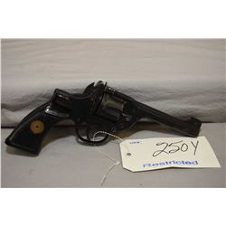 Restricted Enfield Model No. 2 Mark 1** .38 S & W Cal 6 Shot Revolver w/ 127 mm bbl [ flat black war