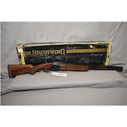 "Browning Model Citori Grade One Hunting .20 Ga 3"" Over & Under Shotgun w/ 26"" vent rib bbls [ appear"
