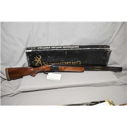 "Browning Model Citori Grade One Field Invector .12 Ga 3"" Over & Under Shotgun w/ 30"" vent rib bbl ["