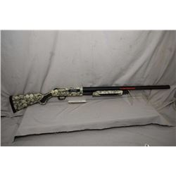 "Mossberg Model 535 ( Zombi Reponder ) .12 Ga 3 1/2"" Pump Action Shotgun w/ 28"" vent rib bbl [ blued"