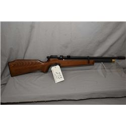 "CZ Model 200S .177 Pellet Cal Single Shot Rifle w/ 19"" bbl [ appears v - good, blued finish, wooden"