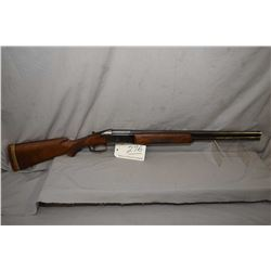 "Valmet Model Over & Under .12 Ga 2 3/4"" Break Action Shotgun w/ 26"" bbl [ fading blue finish, more i"