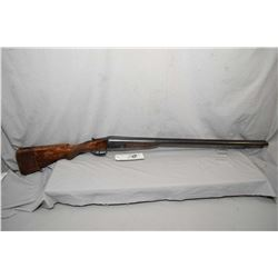 "Unknown Belgian Model Side by Side Hammerless .12 Ga 2 3/4"" Break Action Shotgun w/ 30"" bbl [ fading"