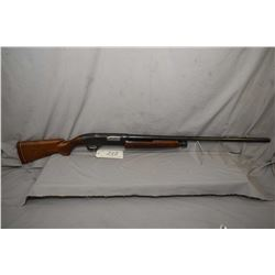 "Winchester Model 1200 .12 Ga 3"" Pump Action Shotgun w/ 30"" bbl [ blued finish starting to fade with"