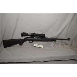 "Mossberg Model 702 Plinkster .22 LR Cal Mag Fed Semi Auto Rifle w/ 18"" bbl [ blued finish, barrel si"