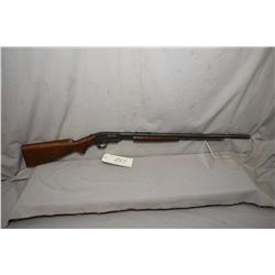 "Savage Model 1914 .22 LR Cal Tube Fed Pump Action Rifle w/ 24"" octagon bbl [ reblued finish, with so"