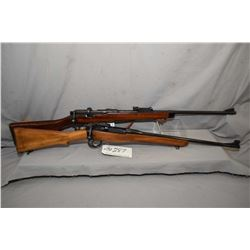 Lot of Two FIrearms : Lee Enfield ( BSA Dated 1918 ) Model No. 1 Mk III* .303 Brit Cal Sporterized B