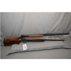 "Lot of Two Firearms - Harrington & Richardson Model 176 .10 Ga 3 1/2"" Single Shot Break Action Shotg"