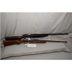 "Lot of Two Firearms : Cooey Model Senior .22 LR Cal Single Shot Bolt Action Rifle w/ 24"" bbl [ fadin"