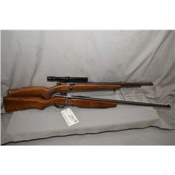 "Lot of Two Firearms : Cooey by Winchester Model 600 .22 LR Cal Tube Fed Bolt Action Rifle w/ 22"" bbl"