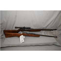 "Lot of Two Firearms : J.C. Higgins Model 31 .22 LR Cal Tube Fed Semi Auto Rifle w/ 24"" bbl [ blued f"