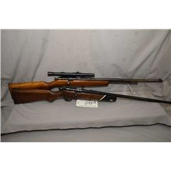 "Lot of Two Firearms : Cooey Model 60 .22 LR Cal Tube Fed Bolt Action Rifle w/ 24"" bbl [ fading blue"
