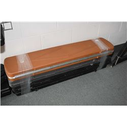 Bundle Lot : Two Black & One Grey - One Tan Hard Plastic Gun Cases