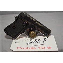 Prohib 12 - 6 CZ Model 45 6.35 MM Cal 8 Shot Semi Auto Pistol w/ 64 mm bbl [ fading blue finish on s