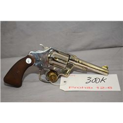 Prohib 12 - 6 Colt Model Police Positive Special .38 Spec Cal 6 Shot Revolver w/ 102 mm bbl [ good n