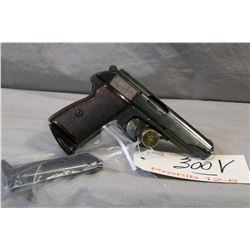 Prohib 12 - 6 FEG Model Walam 48 .9 MM Browning Short Cal 7 Shot Semi Auto Pistol w/ 98 mm bbl [ blu
