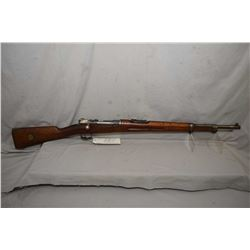 "Mauser ( Oberndorf ) Model 1900 6.5 x 55 Cal Full Wood Military Bolt Action   Rifle w/ 24"" bbl [ fad"