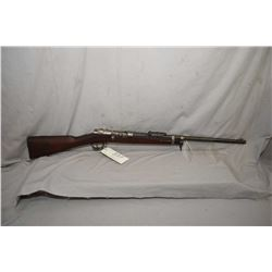 "Mauser ( Amberg ) Model 1871/ 84 .11 MM Mauser Cal Mag Fed Bolt Action Sporterized Rifle w/ 24"" shor"