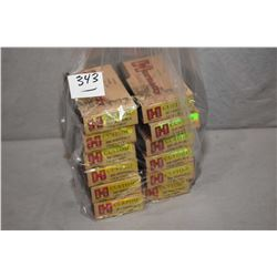 Bag Lot : Twelve Boxes ( 20 rnds per ) Hornady Custom .300 Whisper Blackout Cal 110 Grain V - Max Am