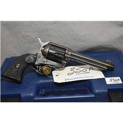 Restricted Colt Model 1873 Single Action Army ( Third Generation ) .45 Colt / .45 ACP Cal 6 Shot Rev