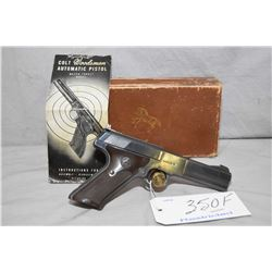 Restricted - Colt Model Woodsman Match Target .22 LR Cal 10 Shot Semi Auto Pistol w/ 114 mm bbl [ ap
