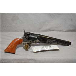 Restricted Colt Model 1861 Navy 2nd Generation .36 Perc Cal 6 Shot Revolver w/ 191 mm bbl [ Appears