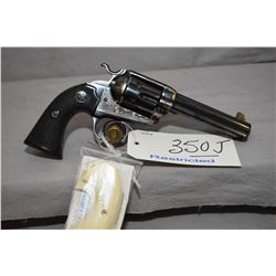 Restricted - Beretta ( By Uberti ) Model Stampede Bisley .45 Colt Cal 6 Shot Revolver w/ 121 mm bbl
