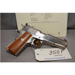 Restricted Colt Model Ace Service Model .22 LR Cal 10 Shot Semi Auto Pistol w/ 127 mm bbl [ appears