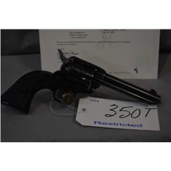 Restricted - Colt Model Frontier Scout .22 LR Cal 6 Shot Revolver w/ 120 mm bbl [ blued finish, fixe
