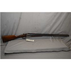 "M Ugarteburu Model Uplander .12 Ga 2 3/4"" Side By Side Hammerless Shotgun w/ 28 1/4"" bbls [ blued fi"