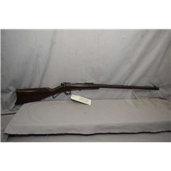 "Savage Model 1905 .22 LR Cal Single Shot Bolt Rifle w/ 22"" bbl [ patchy fading blue finish turning b"