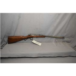 "Savage Model 1904 .22 LR Cal Single Shot Bolt Action Boy's Rifle w/ 18"" bbl [ traces of blue, fading"