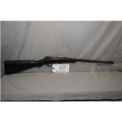 "Savage Model 1904 .22 LR Cal Single Shot Bolt Action Boy's Rifle w/ 18"" bbl [ traces of fading blue"
