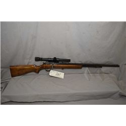 "Cooey Model 60 .22 LR Cal Tube Fed Bolt Action Rifle w/ 24"" bbl [ fading reblued finish, back sight"