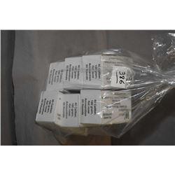 Bag Lot : 6 Boxes ( 50 rnds per ) Western Munitions .40 Cal 180 Grain Flat Nose Reloads