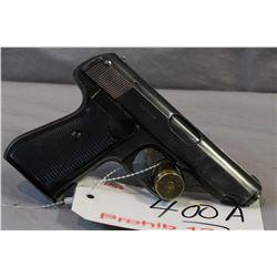 Prohib 12 - 6 Sauer Model 38 H 7.65 MM Cal 8 Shot Semi Auto Pistol w/ 83 mm bbl [ blued finish, fadi