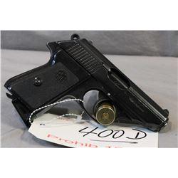 Prohib 12 - 6 ERMA Model EP 652 .22 LR Cal 8 Shot Semi Auto Pistol w/ 83 mm bbl [ blued finish, star