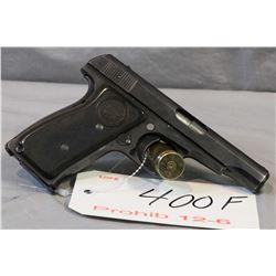 Prohib 12 - 6 Remington Model 51 .380 Auto Cal 7 Shot Semi Auto Pistol w/ 89 mm bbl [ blued finish s